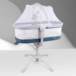Buy Automatic Rockers and Sleeping Cot for newborn Baby (Blue) Online