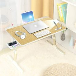 Buy Multipurpose Bed Table with USB Hub, Fan, Night Lamp Online